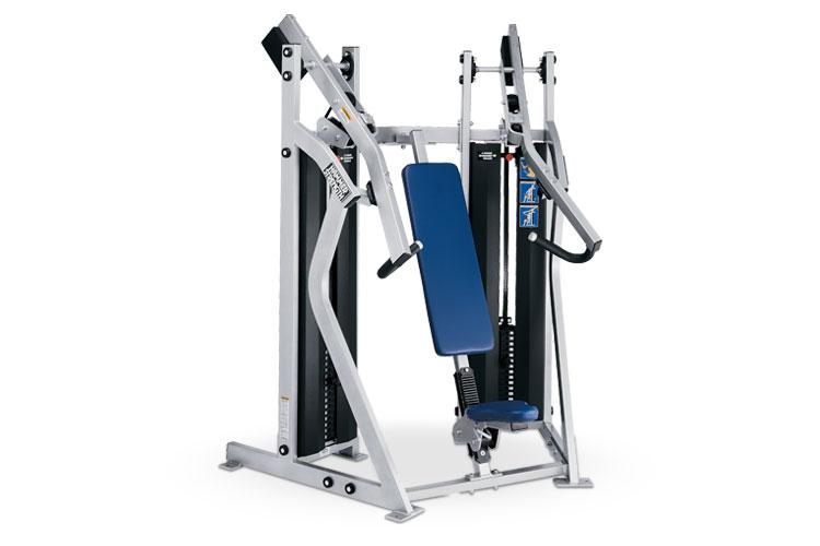 Duale Brustpressmaschine von Hammer Strength