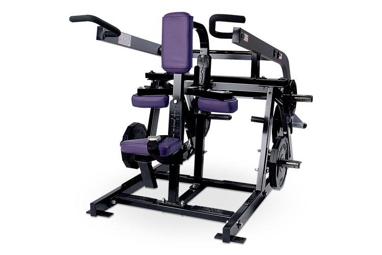 Sitzende Dipmaschine von Hammer Strength