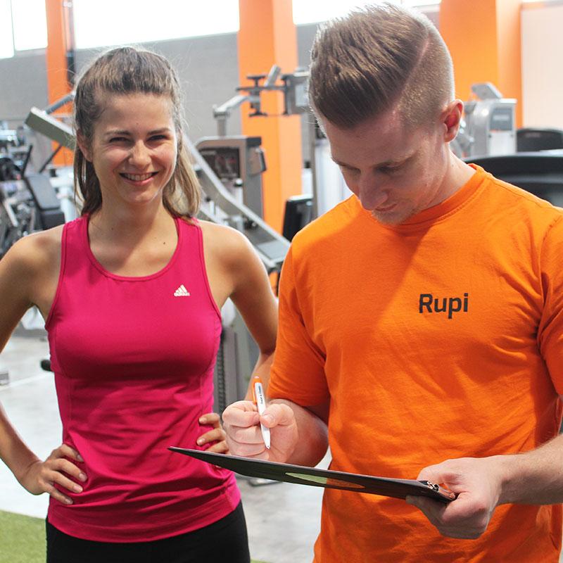Rupi erstellt Trainingsplan