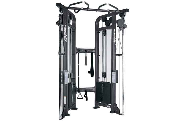 LIfeFitness Dual Adjustable Pulley Kabelturm