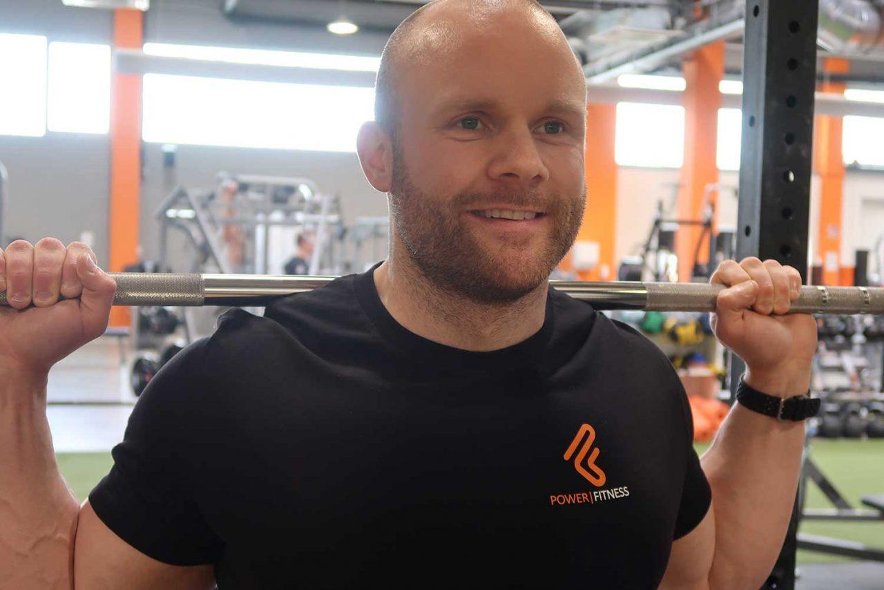 Power Fitness Herren-Shirt